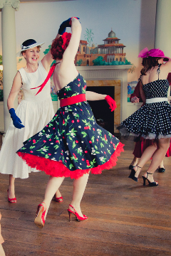 1950s dance class hen party