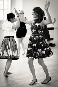 vintage hen party dance London