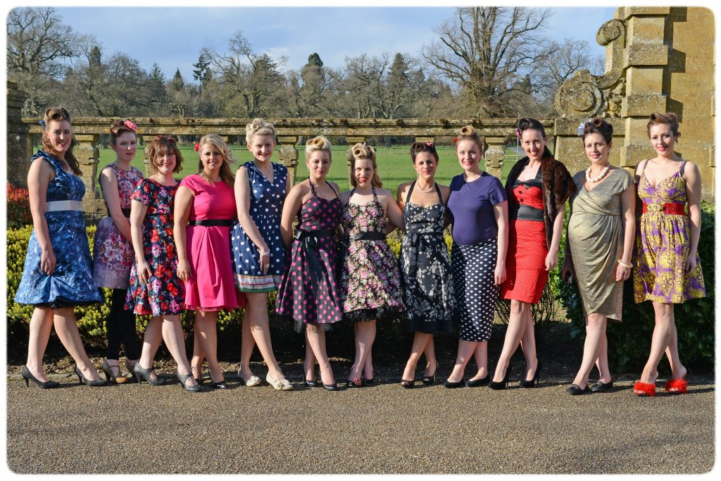 Vintage hen parties in Oxfordshire