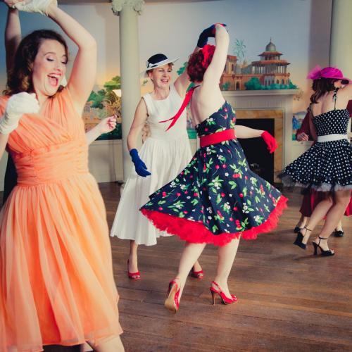 1950s dance class hen party