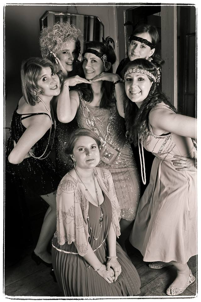 1920s Black And White Photography Charleston Dance Vintage Hen