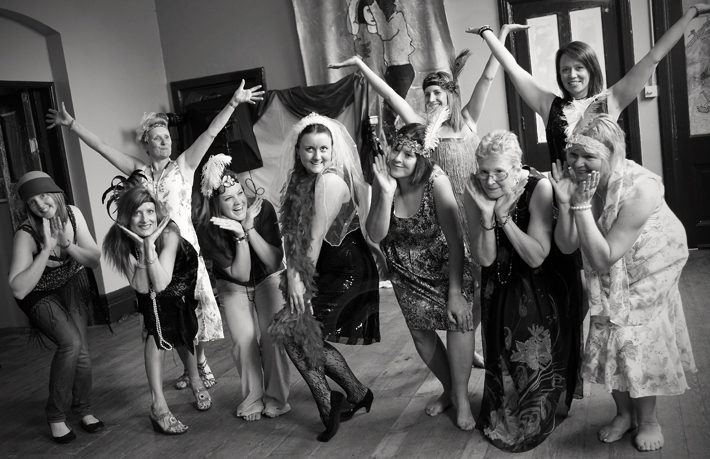 Charleston hen party dance class