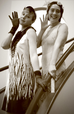 1920s hen party at The Daffodil Cheltenham