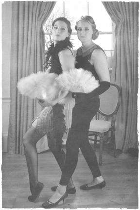 1920s photoshoot