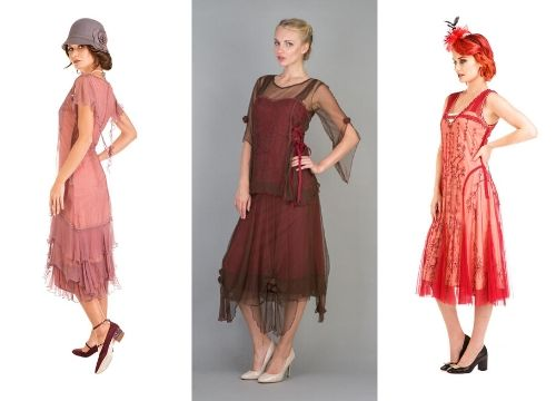 Downton Abbey style dresses