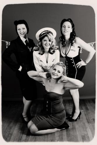 1940s wartime themed party