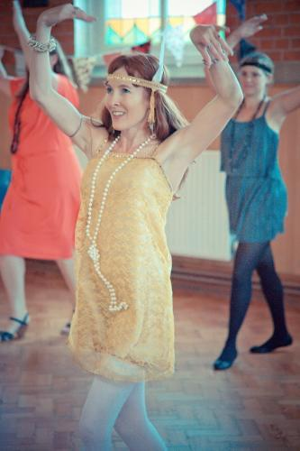 Hen party Charleston dance classes