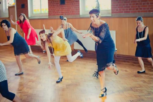 hen party Charleston dance class Oxford