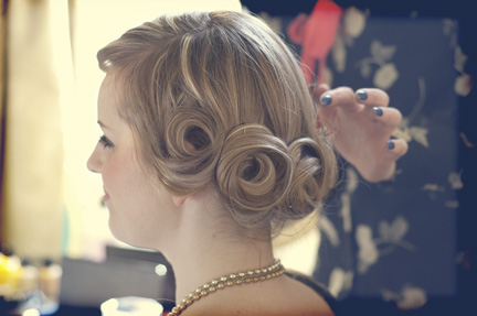 1920s hair and make up
