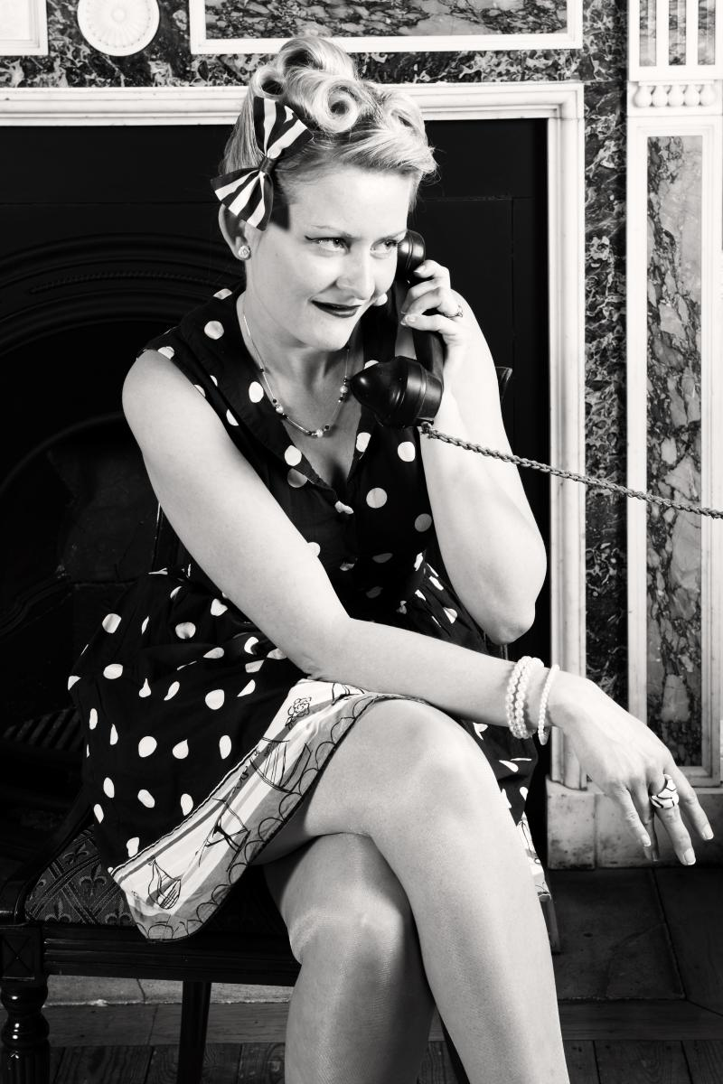 1950s hair and make up - charleston dance & vintage hen parties